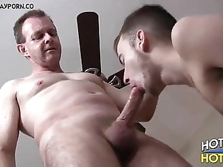 Ken Cartwright and Calvin Cuffs (DF P3) daddy (gay) muscle (gay) old+young (gay)