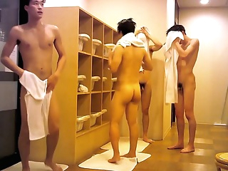 0063 Handsome Japanese In Locker Room 6:13 2019-08-24