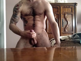Hairy Muscle Tatoo Twink Jerking On Cam 4:49 2015-10-03
