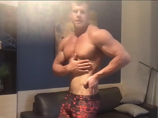 Sexy Guy Jacking Off Showing His Big Dick amateur handjob hd