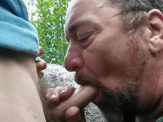 Suks Younger In Park Hd gay amateur blowjob