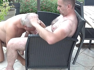 piss with PA- blowjob -sperm jets in the eyes blowjob daddy gay