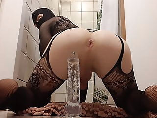 Femboy fucked with huge dildo twink (gay) amateur (gay) crossdresser (gay)