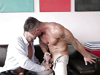 Sex at the office big cock (gay) hunk (gay) muscle (gay)
