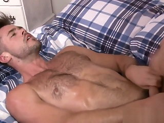 Handsome muscle hunks bedroom fucking hd hunk gay