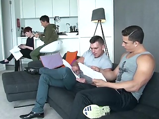 MEN Behind the Scenes - Top to Bottom Part 2 massage gay hd