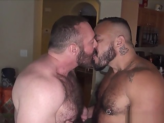 Hairy wolf cums on bears hard cock 5:34 2019-04-18