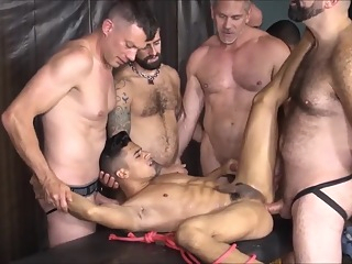Group Piss play big cock hd latin