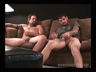 Amateurs Joel and Cooper Jack Off Together 5:00 2020-06-23